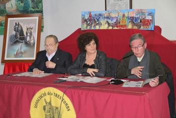 Jaume Mercadé, Teresa Llorens i Pere Fort
