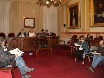 Consell Municipal de Veïns, ahir al vespre