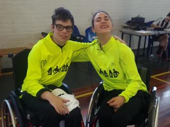 Christian Martínez i Laia Cuscó