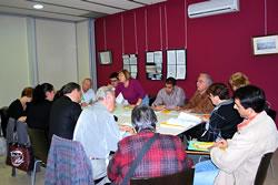 Sessió de treball amb les entitats