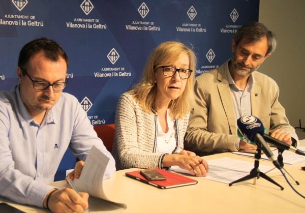 Roda de premsa del govern amb Josep M. Canyelles, de Respon.cat