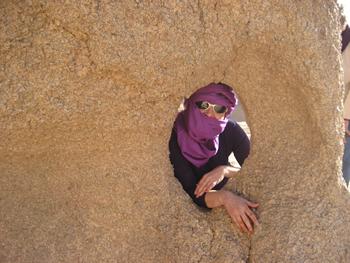 Rosa Vendrell, autora del llibre 'Algèria sense pors. Vivències d'una viatgera nòmada'