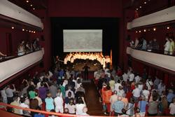 l'Acte institucional del Tricentenari, al Teatre Principal