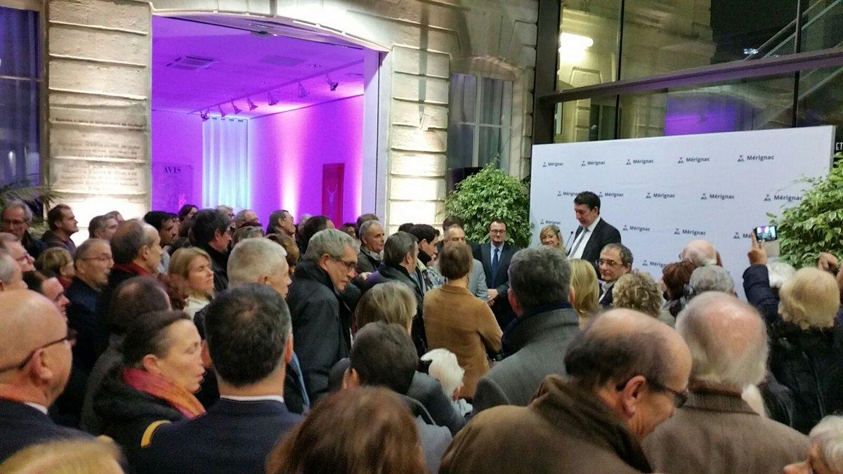 Acte de compromisos de l'alcalde de Mérignac