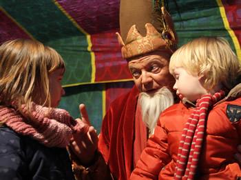 L'Eliseu recollirà les cartes dels nens i nenes de Vilanova i la Geltrú