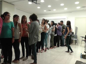 Els participants en una de les sessions