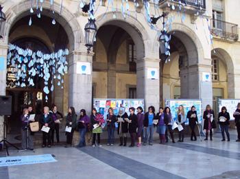 plaça de la Vila, diumenge 8 de març