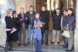 Teresa Costa-Gramunt ha llegit el manifest
