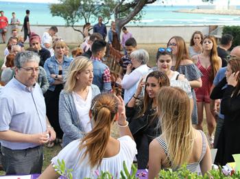 L'acte es va celebrar als jardins del Molí de Mar
