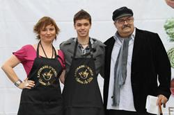 Núria Valls, Daniel Sicart i Pere Tàpies