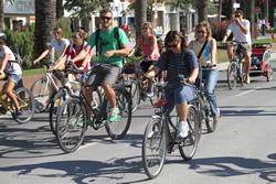 Passejada en Bicicleta autoritats
