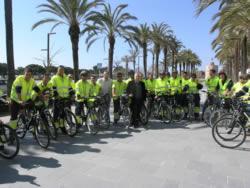 Els treballadors i treballadores ja han estrenat avui les seves bicicletes