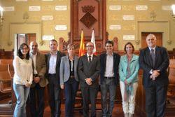 Els participants a la trobada