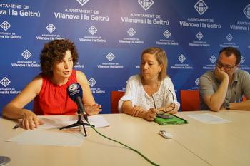 Teresa Llorens, Neus Lloveras i Juan Luís Ruiz