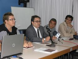 El regidor d'Esports, Salvador Becerra, va presentar l'enquesta d'hàbits esportius a Vilanova