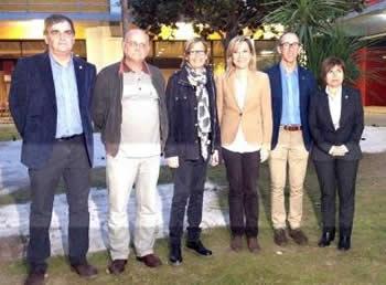 Els alcaldes i alcaldesses van participar al debat, a l'EPSEVG