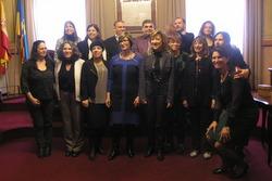 La delegació ha conegut experiències interessants com el Pla Local d'Inclusió o la Mesa d'Entitats Socials
