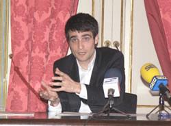 Xavier Carbonell, en la roda de premsa