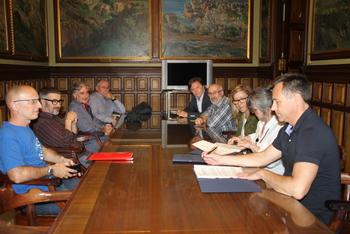 El conveni es va signar dimecres a la sala Pau Roig Estradé de l'Ajuntament