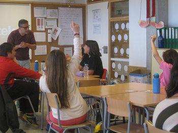 Nou escoles de la ciutat participen al programa Cultura Emprenedora
