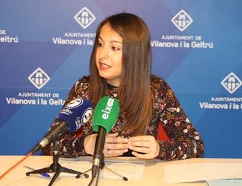 La regidora de Serveis Socials, Gisela Vargas, ha fet un repàs dels indicadors socials de 2016