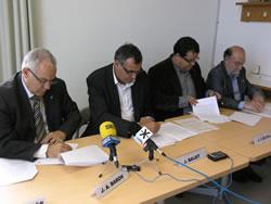 Signatura del Pacte d'alcaldes amb la Diputació
