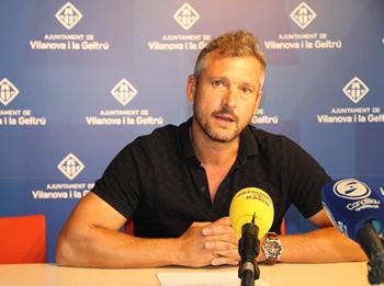 Joan Giribet, regidor de Mobilitat de l'Ajuntament de VNG