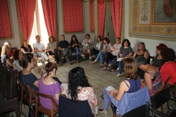 Reunió comissió protocol violència