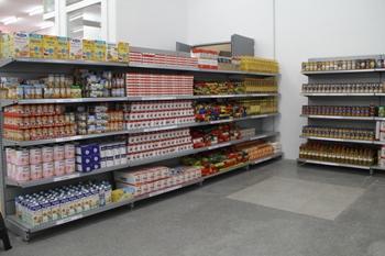 Els lliuraments d'aliments es faran a l'Economat en funció dels punts i les necessitats familiars