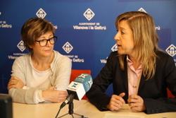 L'alcaldessa Neus Lloveras ha presentat el projecte en roda de premsa