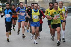 Imatge de la XXII edició de la Mitja Marató