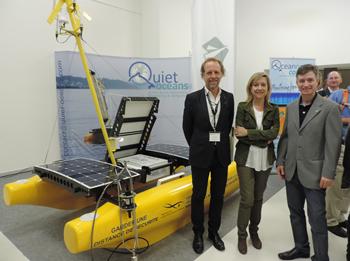 Michel André, Neus Lloveras i Frederic Vilà, I Congrés mundial sobre la contaminació acústica al mar. Oceonoise 2015