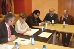 La reunió al Consell Comarcal, aquest matí