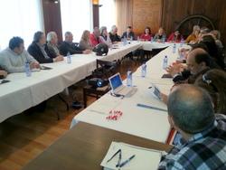La Mesa es va reunir al Club Nàutic de Vilanova
