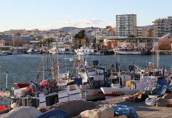 Barques de pesca a Vilanova i la Geltrú