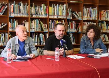 Antoni Munné-Jordà, Eloi Puig i Teresa Llorens presentant la CatCon