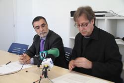 Tomàs Álvaro i Ramon Moles, aquest migdia a Neàpolis