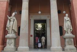 Entrada al Museu Balaguer