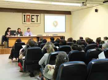 El regidor Joan Martorell va inaugurar el Cicle de xerrades de l'IME
