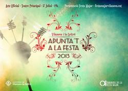 El lema de la FM d'enguany és 'Apunta't a la festa'