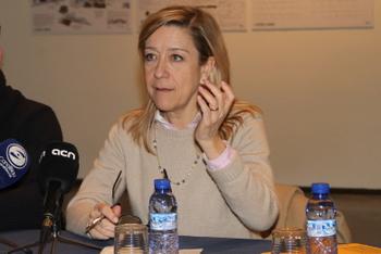 Neus Lloveras, alcaldessa de Vilanova i la Geltrú