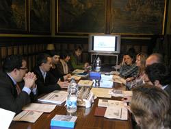 La sessió de treball del Comité de Seguiment  s'ha fet a la Sala de Comissions