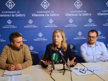 Gerard Llobet, Neus Lloveras i Juan Luís Ruiz