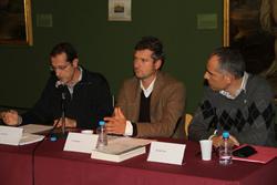 Jordi Ferrer, Joan Giribet i Albert Tubau