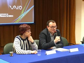 Juan Luis Ruiz i Blanca Albà