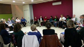 La sessió es va celebrar al centre cívic La Geltrú