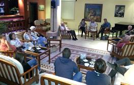 Una quinzena de persones van assistir a la trobada