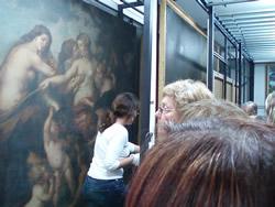 El públic podrà veure com s'emmagatzemen els quadres i altres obres d'art