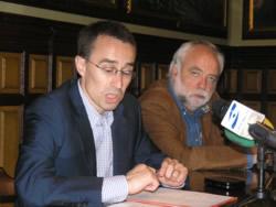Xavier Oller i Francesc Surroca, aquest matí