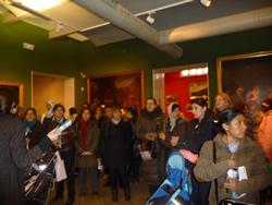 En aquesta ocasió van conèixer el Museu Víctor Balaguer